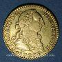Monnaies Espagne. Charles III (1759-1788). 1/2 escudo 1787M-DV. Madrid