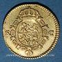 Monnaies Espagne. Charles III (1759-1788). 1/2 escudo 1788/6SC. Séville
