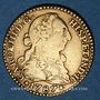 Monnaies Espagne. Charles III (1759-1788). 1 escudo 1787DV. Madrid