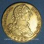 Monnaies Espagne. Charles III (1759-1788). 4 escudos 1780/79PJ. Madrid