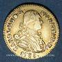 Monnaies Espagne. Charles IV (1788-1808). 1 escudo 1789M-MF. Madrid
