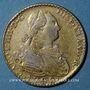 Monnaies Espagne. Charles IV (1788-1808). 2 escudos 1798FM. Faux d'époque en platine