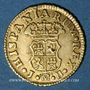 Monnaies Espagne. Ferdinand VI (1746-1759). 1/2 escudo 1756JB. Madrid