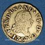 Monnaies Espagne. Ferdinand VI (1746-1759). 1/2 escudo 1757JB. Madrid