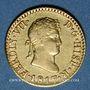 Monnaies Espagne. Ferdinand VII (1808-1833). 1/2 escudo 1817M-GJ. Madrid. (875/1000.  1,69 g)