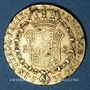 Monnaies Espagne. Ferdinand VII (1808-1833). 2 escudos 1831JB. Séville. (PTL 875‰. 6,77 g)
