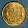 Monnaies Etats Unis. 1 dollar 1856. (PTL 900‰. 1,67 g)