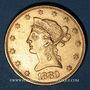 Monnaies Etats Unis. 10 dollars 1880. (PTL 900/1000. 16,71 g)