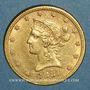 Monnaies Etats Unis. 10 dollars 1881. (PTL 900 /1000. 16,71 gr)