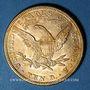 Monnaies Etats Unis. 10 dollars 1882. (PTL 900/1000. 16,71 g)