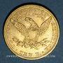 Monnaies Etats Unis. 10 dollars 1893. (PTL 900/1000. 16,71 g)