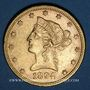 Monnaies Etats Unis. 10 dollars 1894. (PTL 900/1000. 16,71 g)