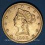 Monnaies Etats Unis. 10 dollars 1898. (PTL 900/1000. 16,71 g)