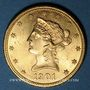 Monnaies Etats Unis. 10 dollars 1901S. San Francisco. (PTL 900/1000. 16,71 g)