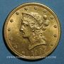 Monnaies Etats Unis. 10 dollars 1905. (PTL 900/1000. 16,71 g)