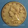 Monnaies Etats Unis. 10 dollars 1905 S. San Francisco (PTL 900‰. 16,71 g)