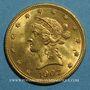 Monnaies Etats Unis. 10 dollars 1907. (PTL 900‰. 16,71 g)