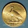 Monnaies Etats Unis. 10 dollars 1908. Tête d'indien. 900 /1000. 16,71 gr