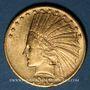 Monnaies Etats Unis. 10 dollars 1910. Tête d'indien. (PTL 900‰. 16,71 g)