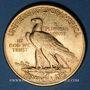 Monnaies Etats Unis. 10 dollars 1912. Tête d'indien. (PTL 900‰. 16,71 g)