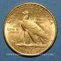 Monnaies Etats Unis. 10 dollars 1916S. San Francisco. Tête d'indien. (PTL 900/1000. 16,71 g)