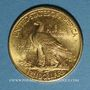 Monnaies Etats Unis. 10 dollars 1926. Tête d'indien. (PTL 900‰. 16,71 g)