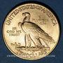 Monnaies Etats Unis. 10 dollars 1926. Tête d'indien. (PTL 900/1000. 16,71 g)