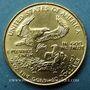Monnaies Etats Unis. 10 dollars MCMLXXXIX (1989). (PTL 917/1000. 8,48 g)