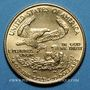Monnaies Etats Unis. 10 dollars MCMLXXXVII (1987). (PTL 917‰. 8,48 g)