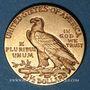 Monnaies Etats Unis. 2 1/2 dollars 1913. Tête d'indien. (PTL 900‰. 4,18 g)
