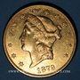 Monnaies Etats Unis. 20 dollars 1879 S. San Francisco. (PTL 900‰. 33,43 g)