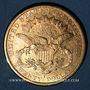Monnaies Etats Unis. 20 dollars 1879S. San Francisco. (PTL 900/1000. 33,43 g)