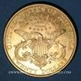 Monnaies Etats Unis. 20 dollars 1896S. San Francisco. (PTL 900/1000. 33,43 g)