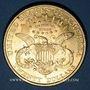 Monnaies Etats Unis. 20 dollars 1898S. San Francisco. (PTL 900/1000. 33,43 g)