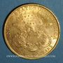 Monnaies Etats Unis. 20 dollars 1900. (PTL 900‰. 33,43 g)