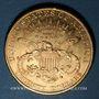 Monnaies Etats Unis. 20 dollars 1900. (PTL 900/1000. 33,43 g)