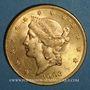 Monnaies Etats Unis. 20 dollars 1903. (PTL 900‰. 33,43 g)