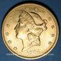 Monnaies Etats Unis. 20 dollars 1904. (PTL 900‰. 33,43 g)