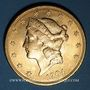 Monnaies Etats Unis. 20 dollars 1904. (PTL 900/1000. 33,43 g)
