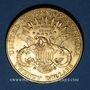 Monnaies Etats Unis. 20 dollars 1907. (PTL 900‰. 33,43 g)