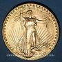 Monnaies Etats Unis. 20 dollars 1911D. Denver. Statue de la Liberté. (PTL 900‰. 33,43 g)