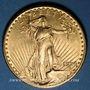 Monnaies Etats Unis. 20 dollars 1924. Statue de la Liberté. (PTL 900‰. 33,43 g)