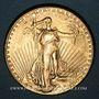 Monnaies Etats Unis. 20 dollars 1925. Statue de la Liberté. (PTL 900‰. 33,43 g)