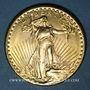 Monnaies Etats Unis. 20 dollars 1927. Statue de la Liberté. (PTL 900‰. 33,43 g)