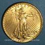 Monnaies Etats Unis. 20 dollars 1928. Statue de la Liberté. (PTL 900 ‰. 33,43 g)