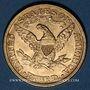Monnaies Etats Unis. 5 dollars 1882. (PTL 900‰. 8,36 g)