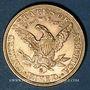 Monnaies Etats Unis. 5 dollars 1882 S. (PTL 900‰. 8,36 g)