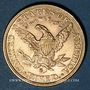 Monnaies Etats Unis. 5 dollars 1882S. (PTL 900/1000. 8,36 g)