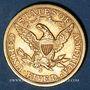 Monnaies Etats Unis. 5 dollars 1901S. San Francisco. (PTL 900/1000. 8,36 g)