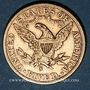 Monnaies Etats Unis. 5 dollars 1906 S. San Francisco. (PTL 900‰. 8,36 g)